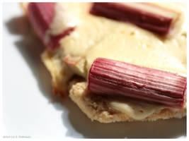 Rhubarb Cake by sellerie