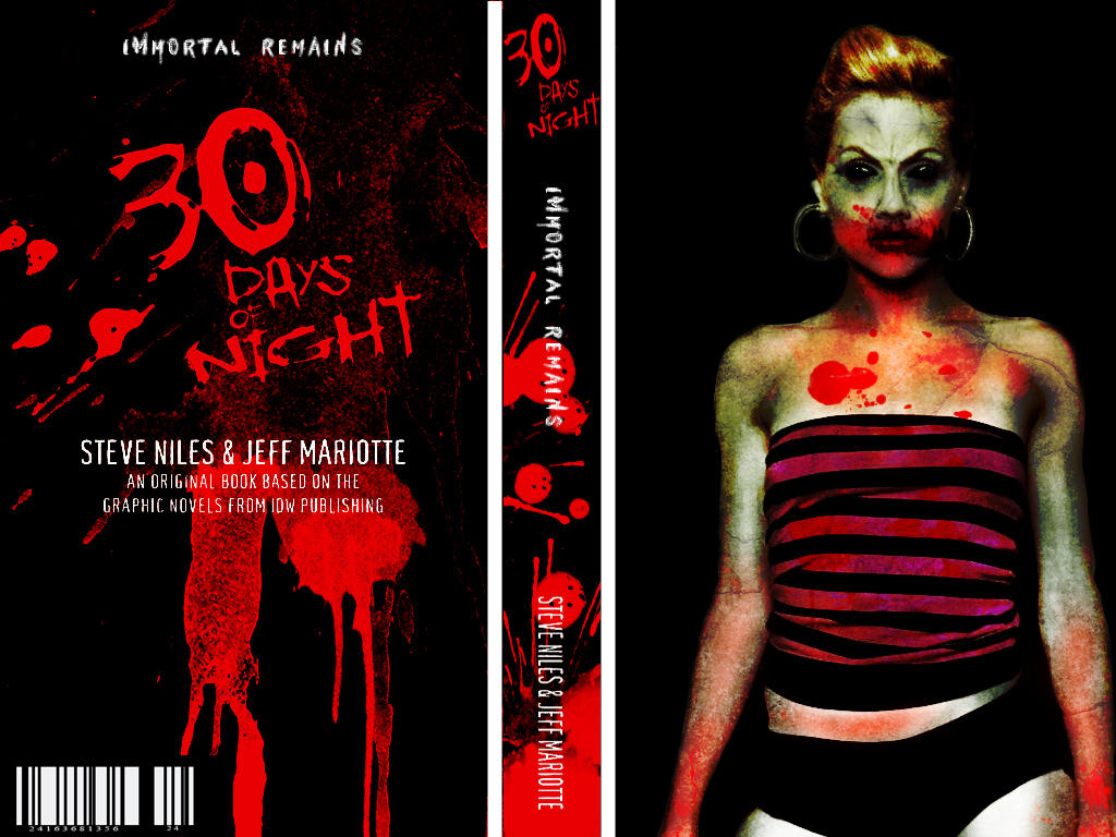 30 Days Of Night Book Cover By Kuukat98122 On Deviantart