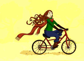 Bicyclette by mademoisellek
