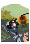 Bad panda by mademoisellek