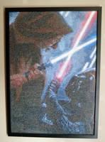Star Wars cross stitch by 47X