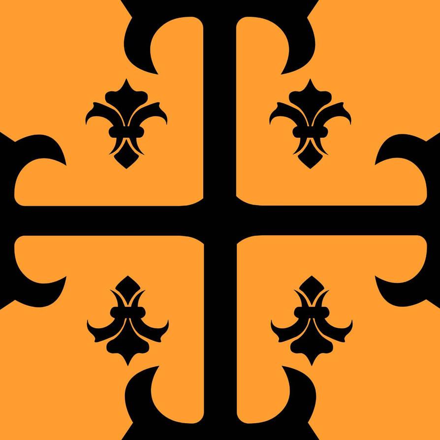 Gothic Cross + Fluer De Lis  by MonsieurTT