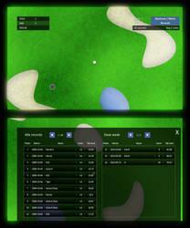Flash Golf game