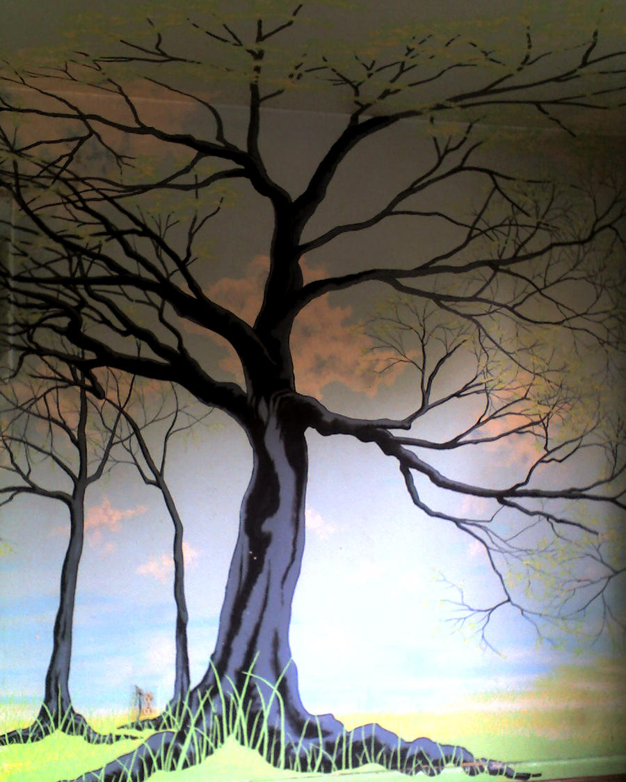 Favorite Dancing Tree by Muddyfeet
