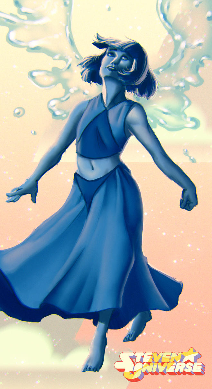 Steven Universe - Lapis Lazuli by venominon