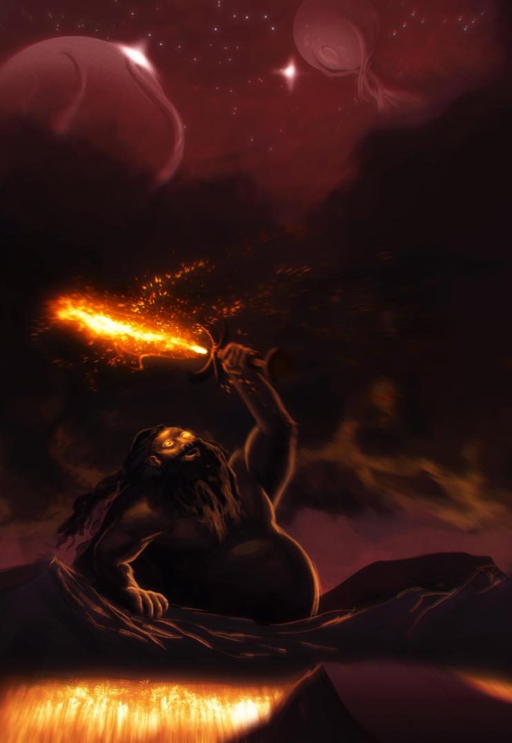 Muspelheim - A Song of Fire by venominon