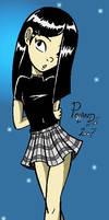 Goth Schoolgirl Violet