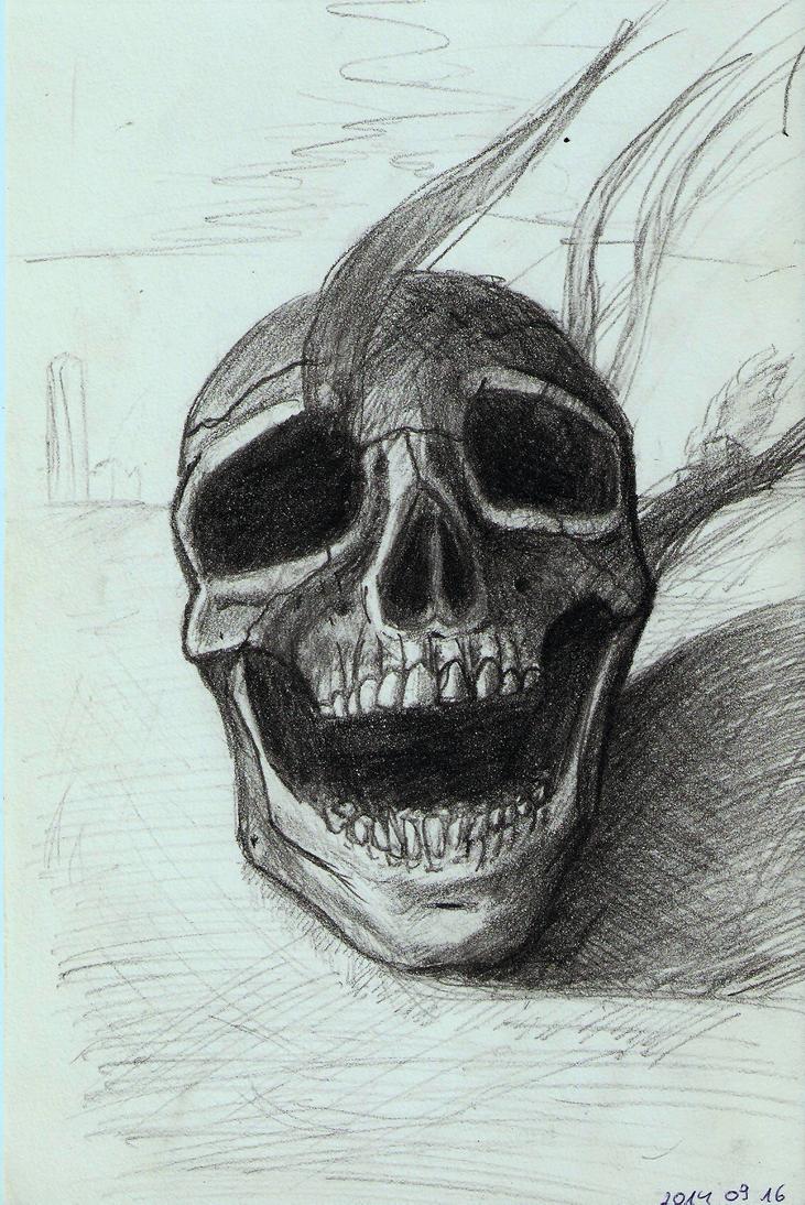 Skull 04 by DrunkHedgehog