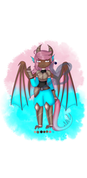 Dragon Girl Adopt - SOLD by Sparklebubble343