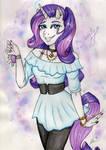 Rarity - Anthro Pony