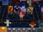 Paintings on Animal Crossing