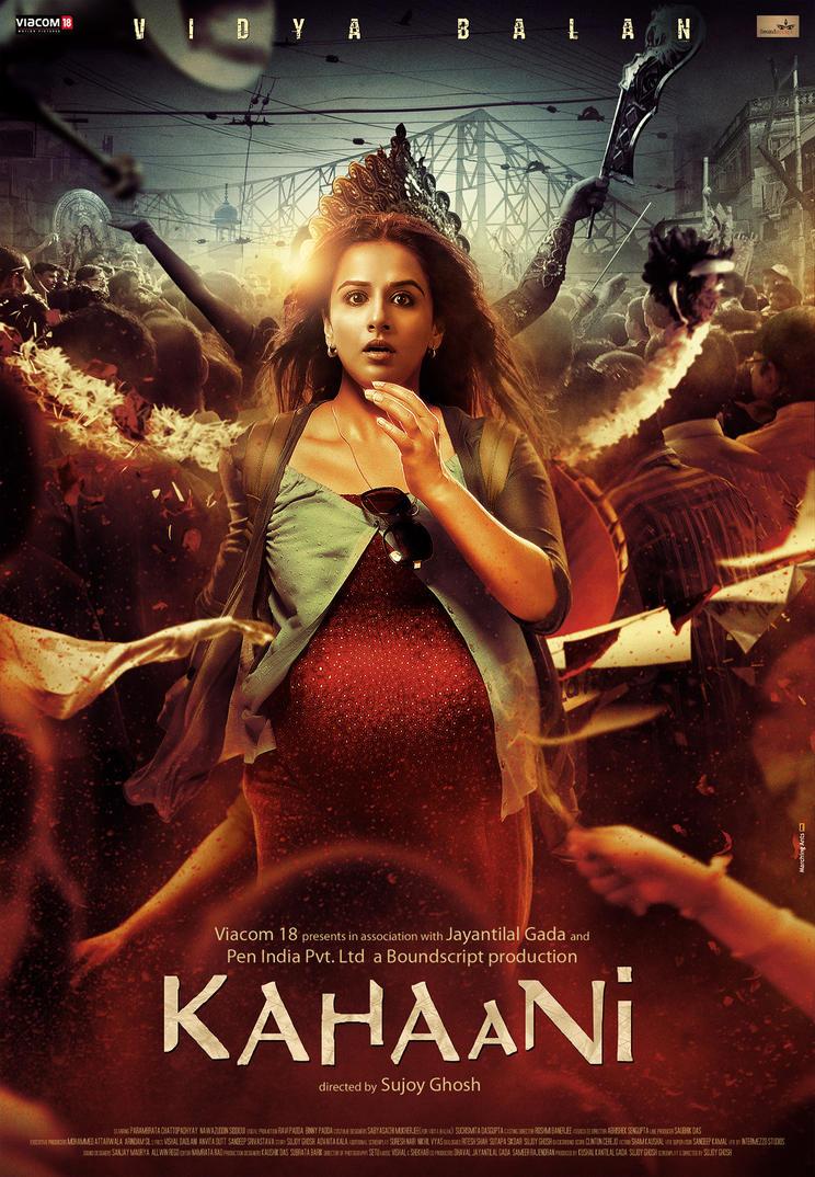'KAHAANI' first poster by metalraj