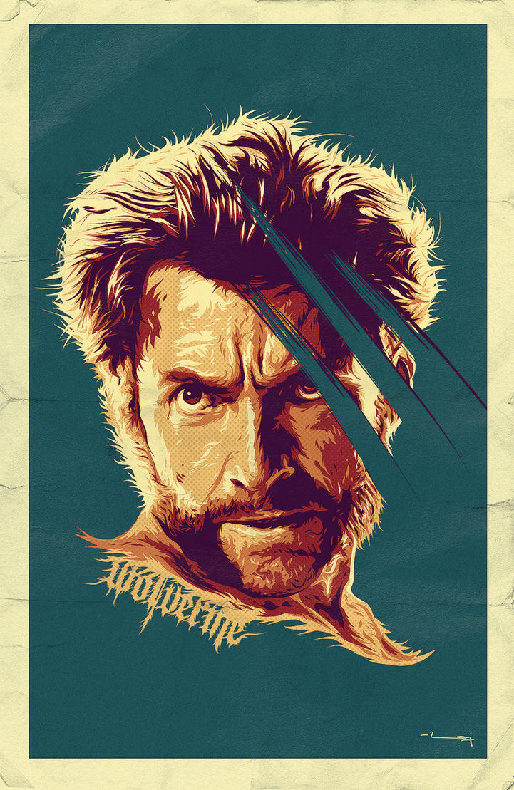 WOLVERINE by metalraj