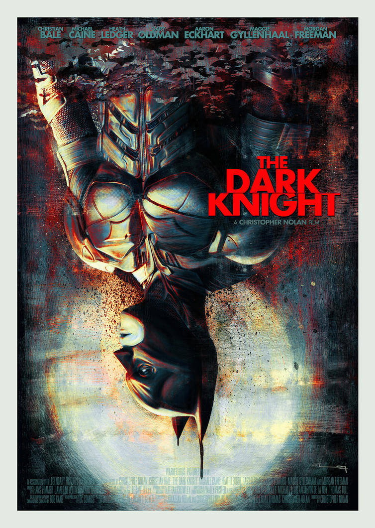 THE DARK KNIGHT ver2 by metalraj