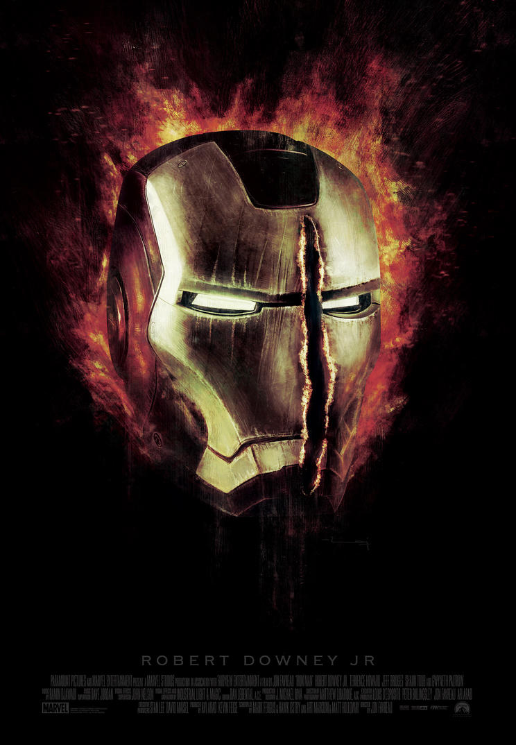 IRON MAN v1 by metalraj