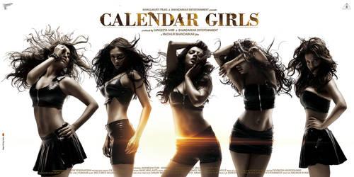 CALENDER GIRLS first poster by metalraj