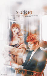 Secret - Baekhyun and Taeyeon (BAEKYEON) by blaxxjae