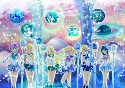 [ART] Sailor Astar Mar Hacean Aquarius Vocean...