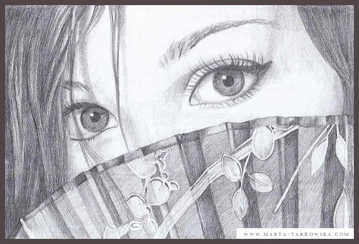 Portrait of a woman iii by metulji