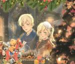 [Hetalia]  Christmas Shop