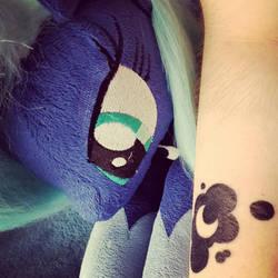Luna CutieMark Tatoo 1.1