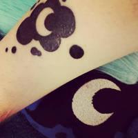 Luna CutieMark Tatoo 1.3