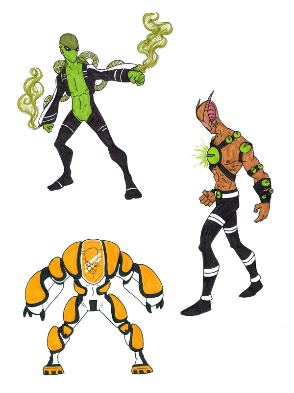 Ben 10 Super Soldiers 5 by kjmarch on DeviantArt