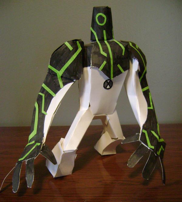 Uprgrade Paper Model by kjmarch