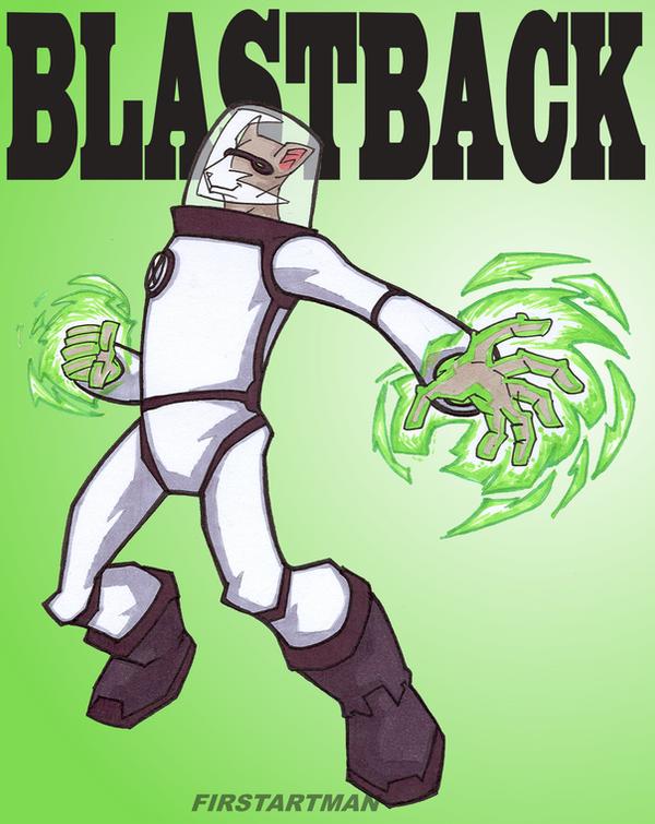 Ben 10 Spykeback Blastback by kjmarch