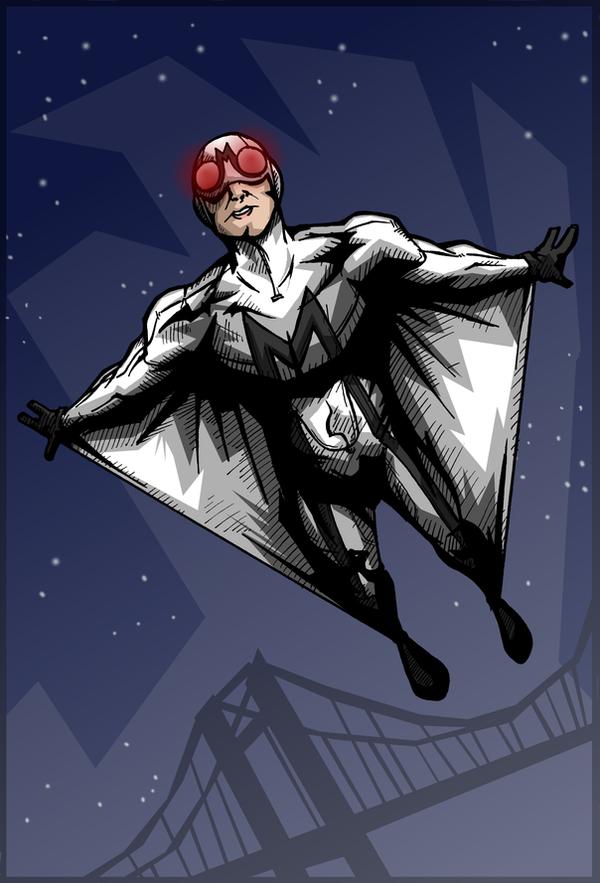 the mothman by kjmarch on deviantart