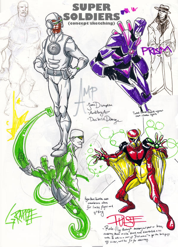 Ben 10 Super Soldier Concepts by kjmarch on DeviantArt