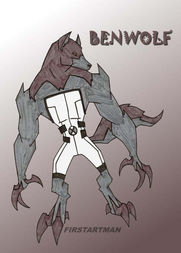Benwolf by kjmarch on ... Ben 10 Benvicktor Wallpaper