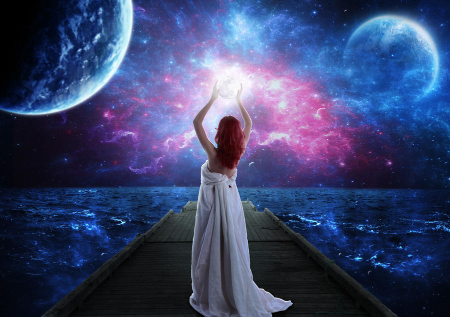 The Moon Goddess by Jezzy-Art