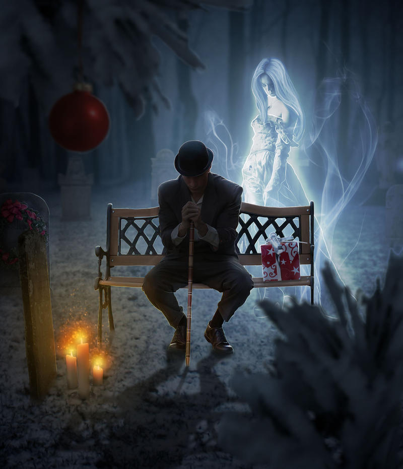 Lonely On Christmas.A Lonely Christmas By Jezzy Art On Deviantart