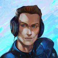 Cyber Rolf commission by vagab0nda