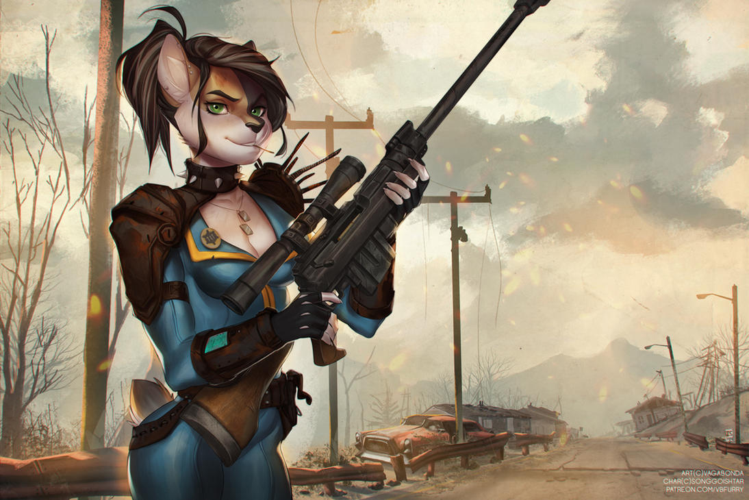 Fallout 3 Anime Characters : Commission road of victory by vagab nda on deviantart