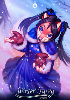 Winter Furry : Little Foxy Commission