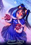 Winter Furry : Little Foxy Commission