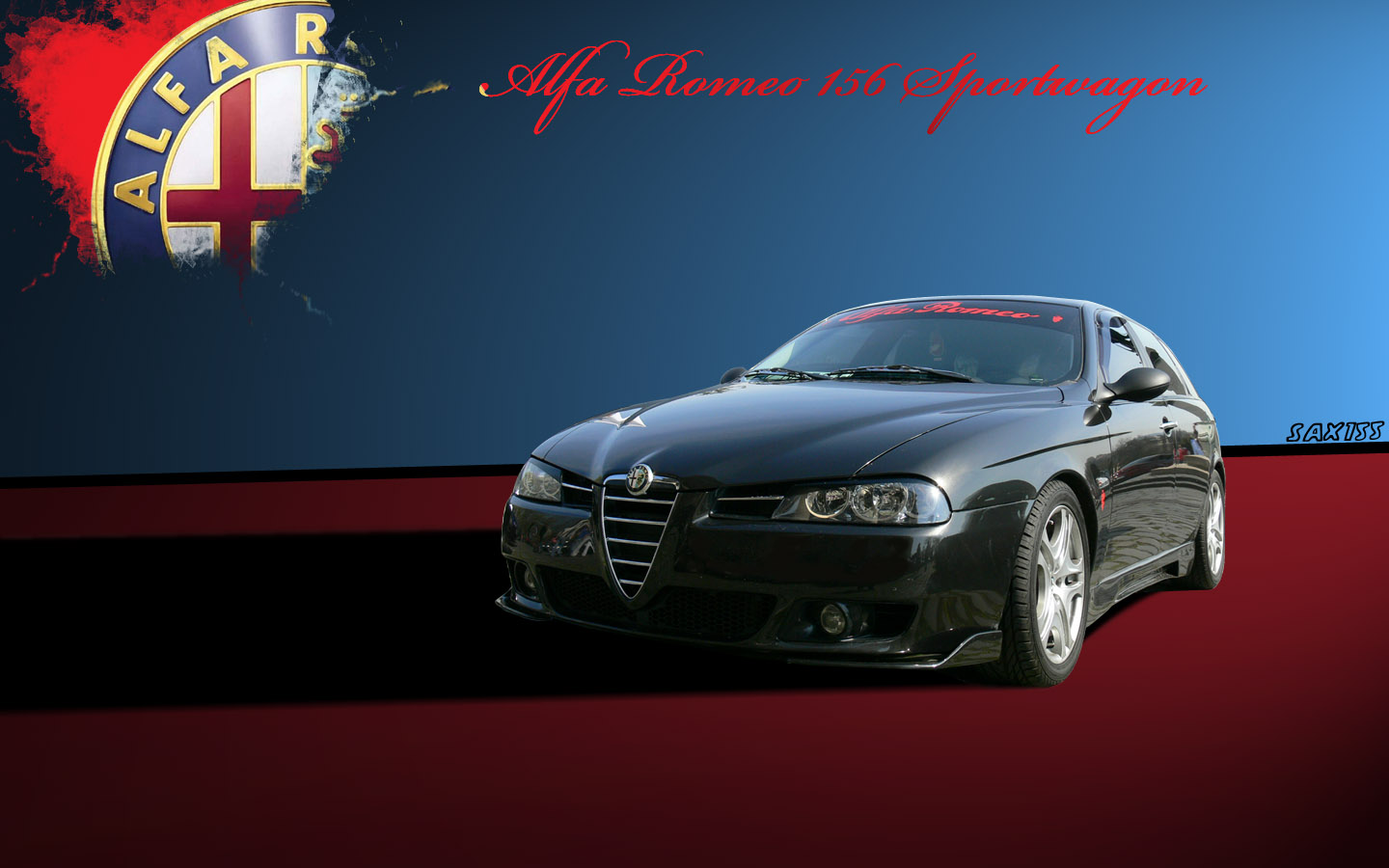 alfa romeo 156 sw by sax155 on deviantart. Black Bedroom Furniture Sets. Home Design Ideas