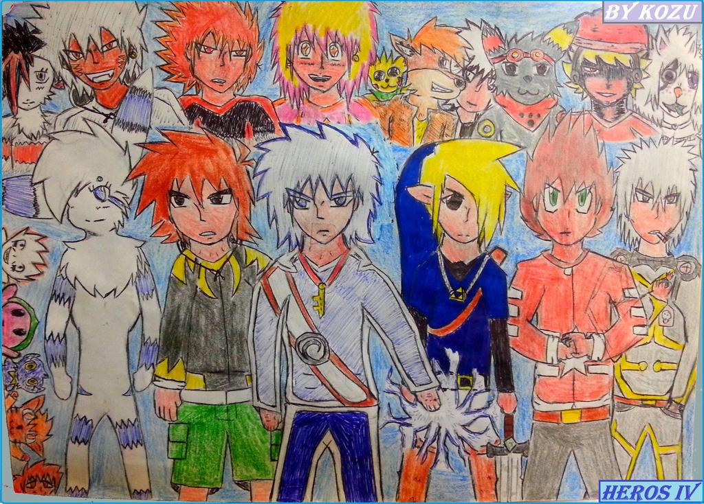Heros IV ICON and My Best Friends by Kokuzuma