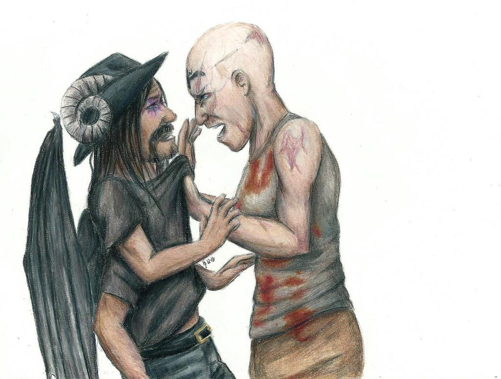 Deadlands - Sonja and Val