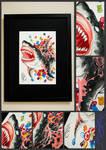 Sweet Shark - Watercolor By MKP by MashaKP5
