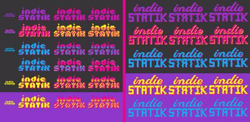 Indie Statik - Logo Sheet