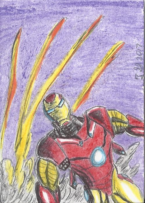 Iron Man by ShadowManGMR