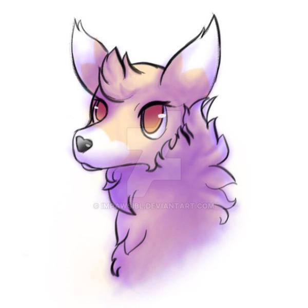 Fluffy Llama by Impawsibl