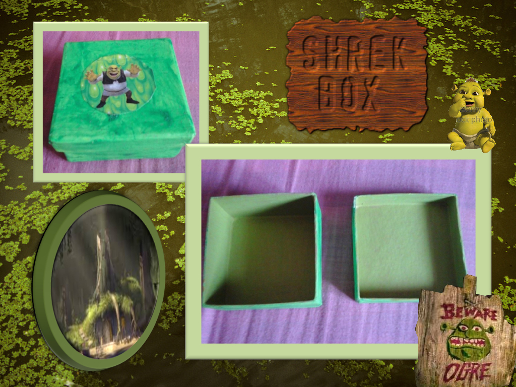 Shrek Box (360) lol, naw, just a Shrek box by ButchxButtercup1996 ...