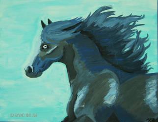 Blue Wind by HeyyitsKT