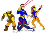 Simpsons Style X-Men