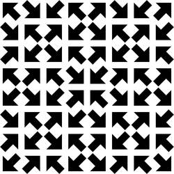 Tilted Arrow Pattern 1