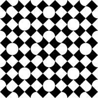Bitten Square Pattern 1